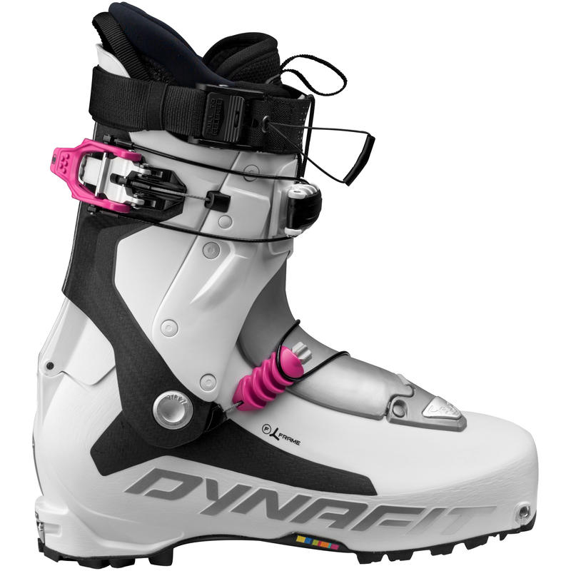 Bottes de ski TLT7 Expedition CR Blanc/Fuchsia