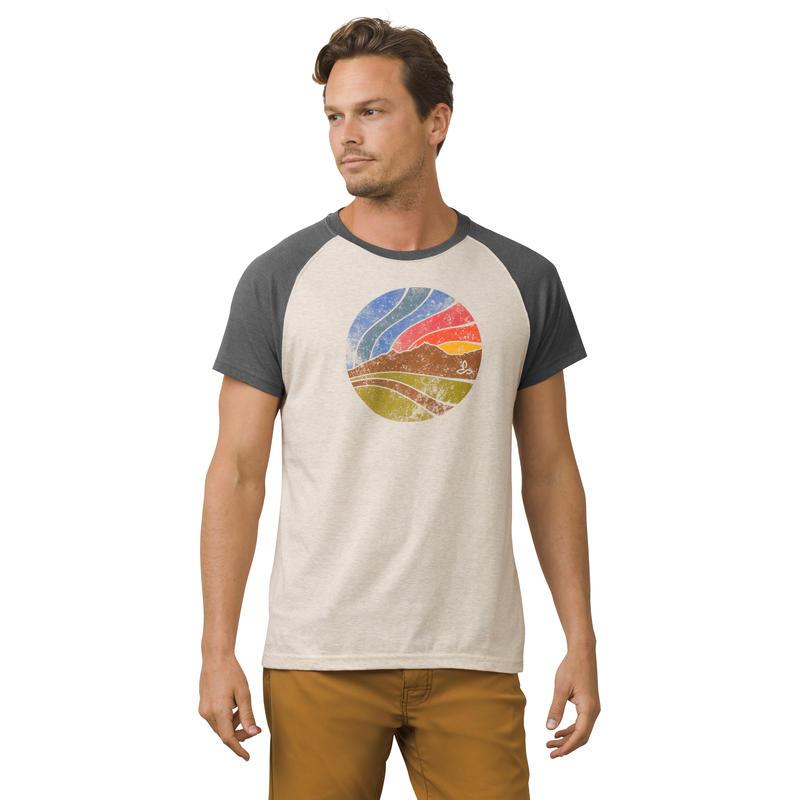 T-shirt Sunset Raglan Pierre