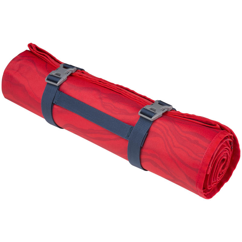 Nappe/couverture de pique-nique Imprimé céréales rouge victoire