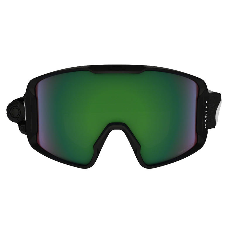 LineMiner Goggles With Inferno Lens Matte Black/Prizm Inferno Jade