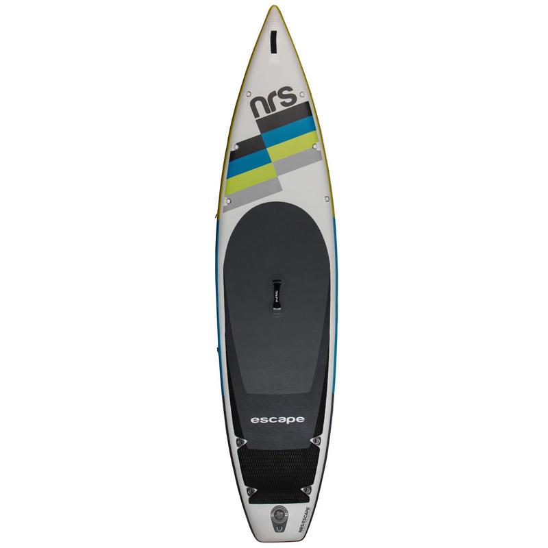 Surf à pagaie gonflable Escape 3,5 m Blanc/Jaune