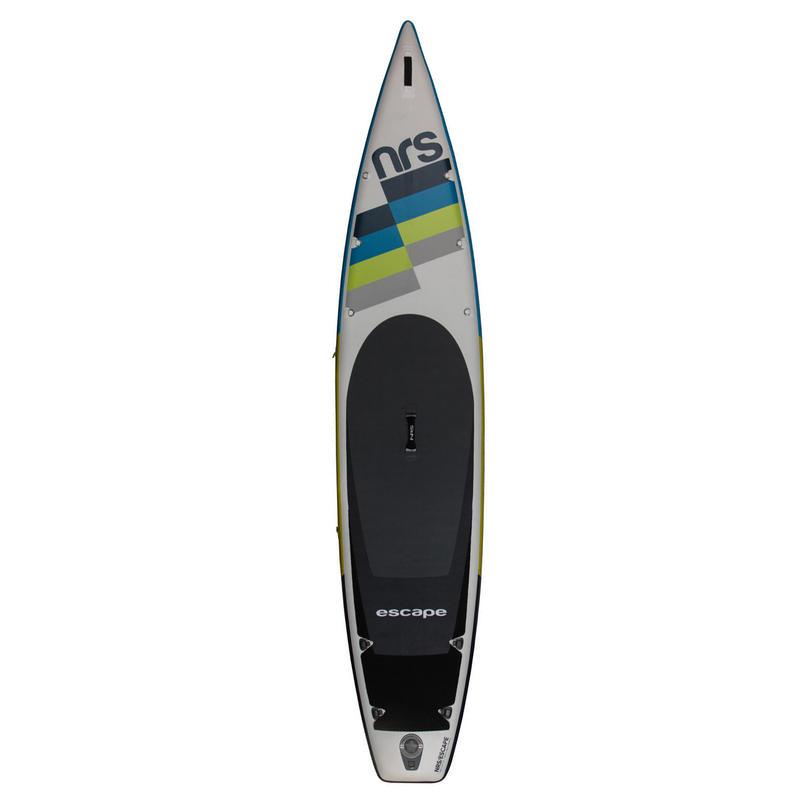 Surf à pagaie gonflable Escape 3,8 m Blanc/Bleu