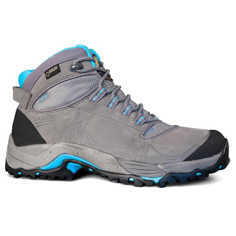 FC 4.0 GTX Light Trail Shoes Grey/Ice Blue