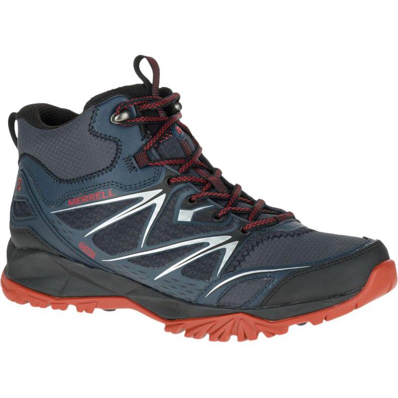 Capra Bolt Mid Waterproof Light Trail Shoes Black/Navy