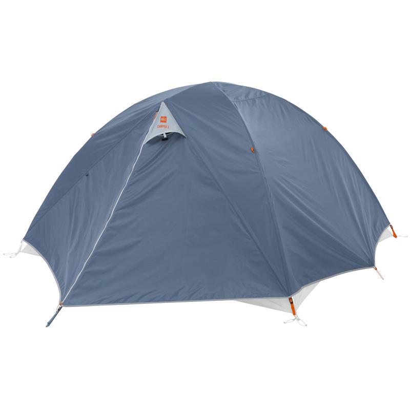 Double toit pour tente Camper 3 Bleu fumée
