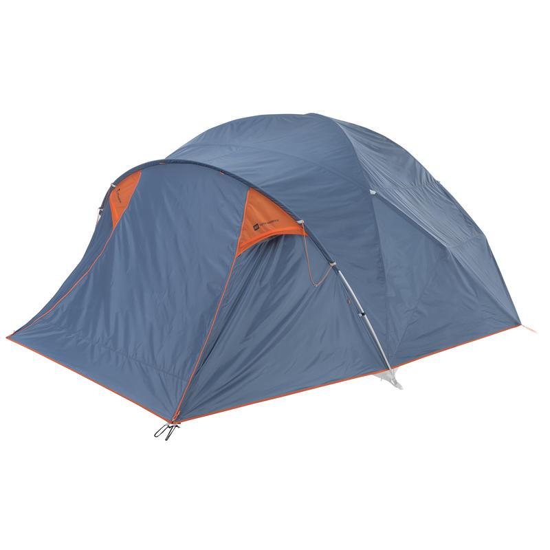 Double toit pour tente Super Wanderer Bleu fumée/Carotène