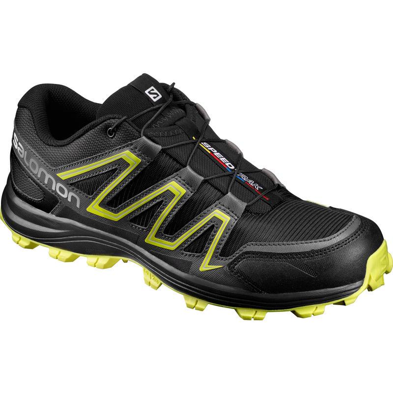 Speedtrak Trail Running Shoes Black/Magnet/Sulphur Spring
