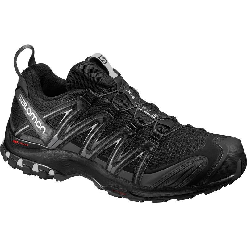 Chaussures de course sur sentier XA Pro 3D Noir/Aimant/Ombre discrète
