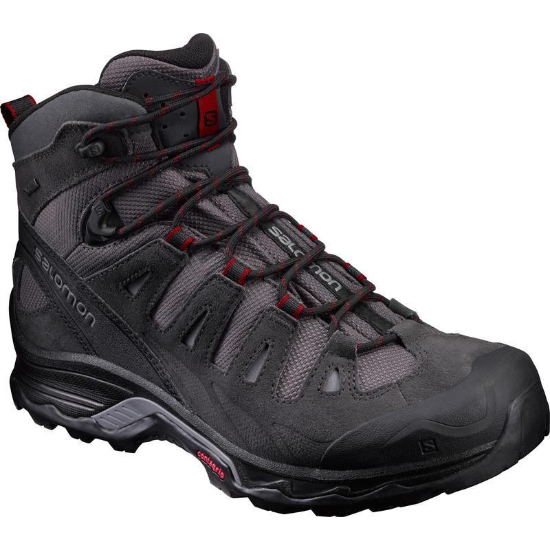 Quest Prime GTX Hiking Shoes Magnet/Black/Red Dalhia