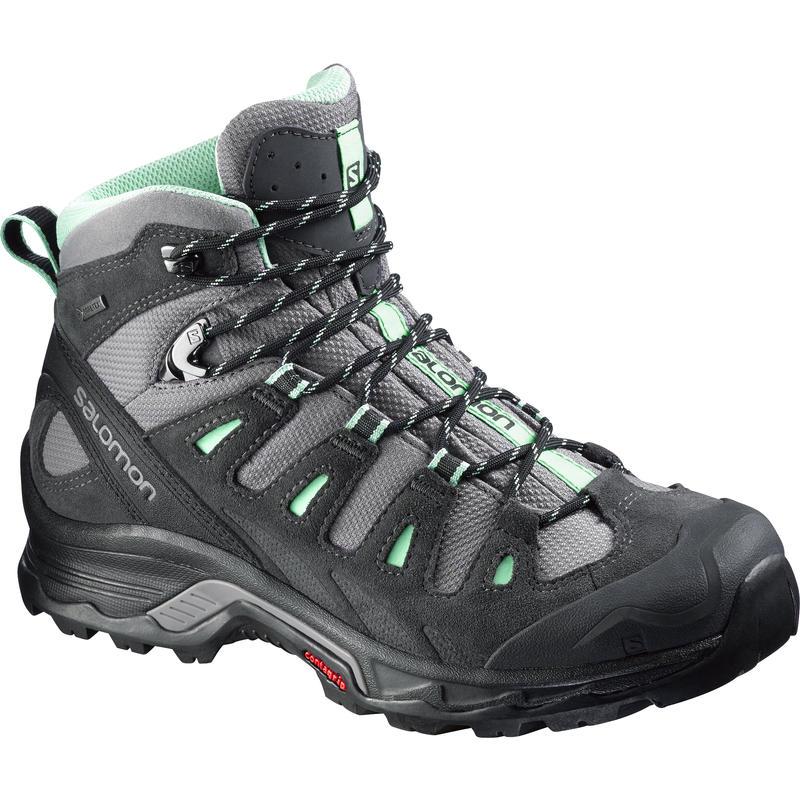 Chaussures de randonnée Quest Prime GTX Détroit/Asphalte/Vert Lucite