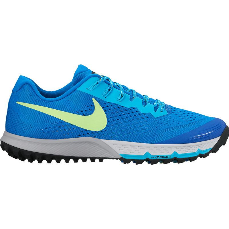 Chaussures de course sur sentier Zoom Terra Kiger4 Photo bleue/Blanc