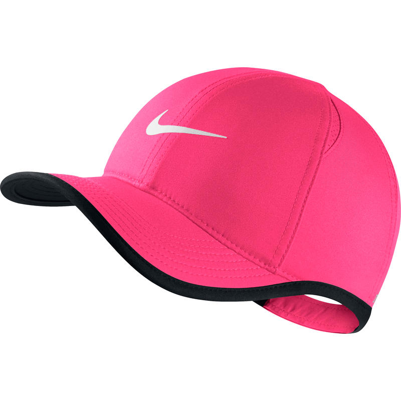 Featherlight Cap Racer Pink/Black/White