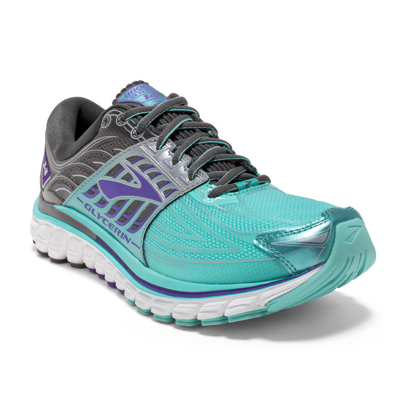 Glycerin 14 Road Run Shoes Aruba Blue/Anthracite