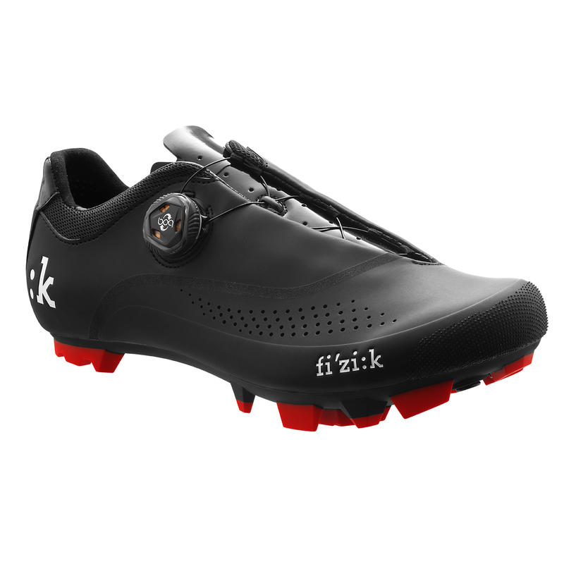 Chaussures de vélo M4B Noir/Rouge