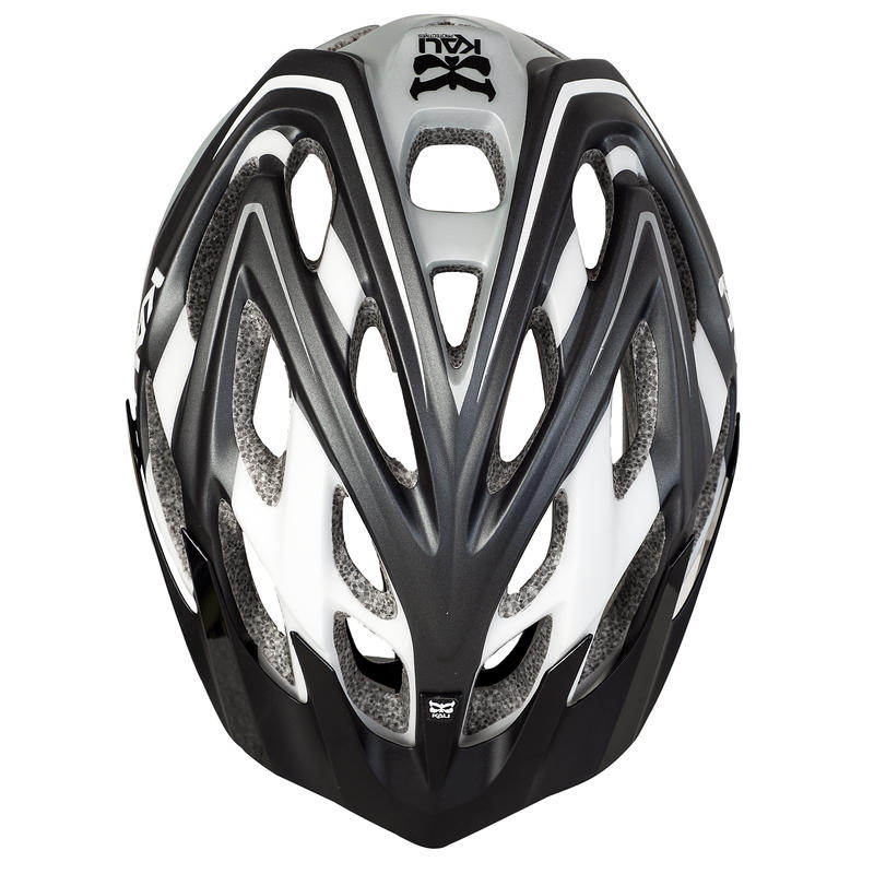 Chakra Plus Cycling Helmet Matte Grey/White