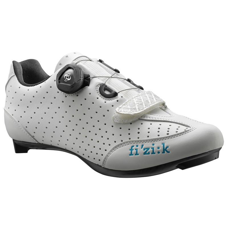 Chaussures de vélo R3B Donna Blanc/Turquoise