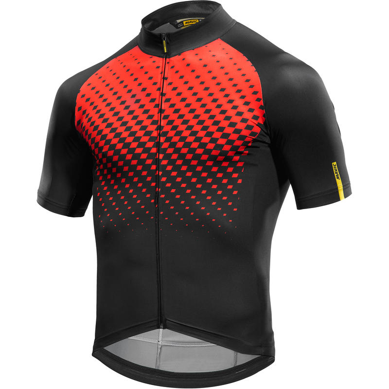 Maillot Cosmic Graphic Rouge vif