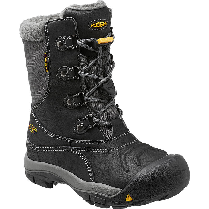 Basin Waterproof Winter Boots Black/Gargoyle