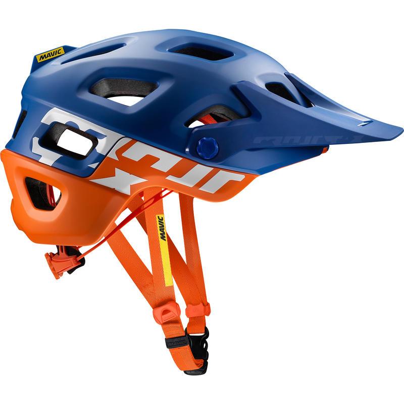 Casque de vélo Crossmax Pro Surfer sur le Web/Orangeade