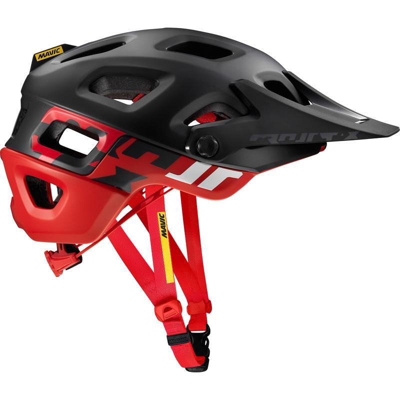 Crossmax Pro Cycling Helmet Black/Fiery Red