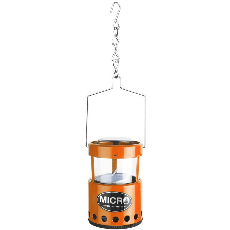 Micro lanterne à bougie Orange