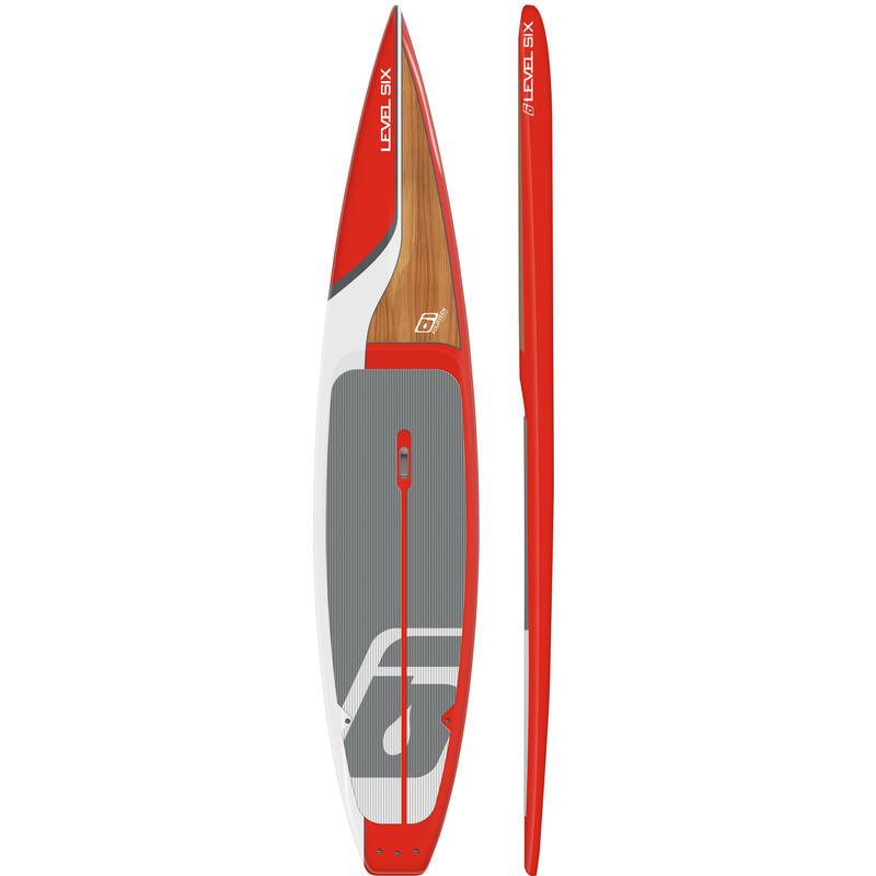 Surf à pagaie Fourteen Touring Inferno/Noyer