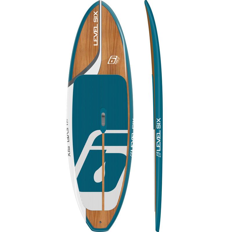Surf à pagaie Nine O Bleu Riviera/Noyer