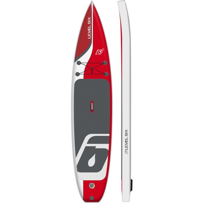 Surf à pagaie iSup Twelve Six Orange vif