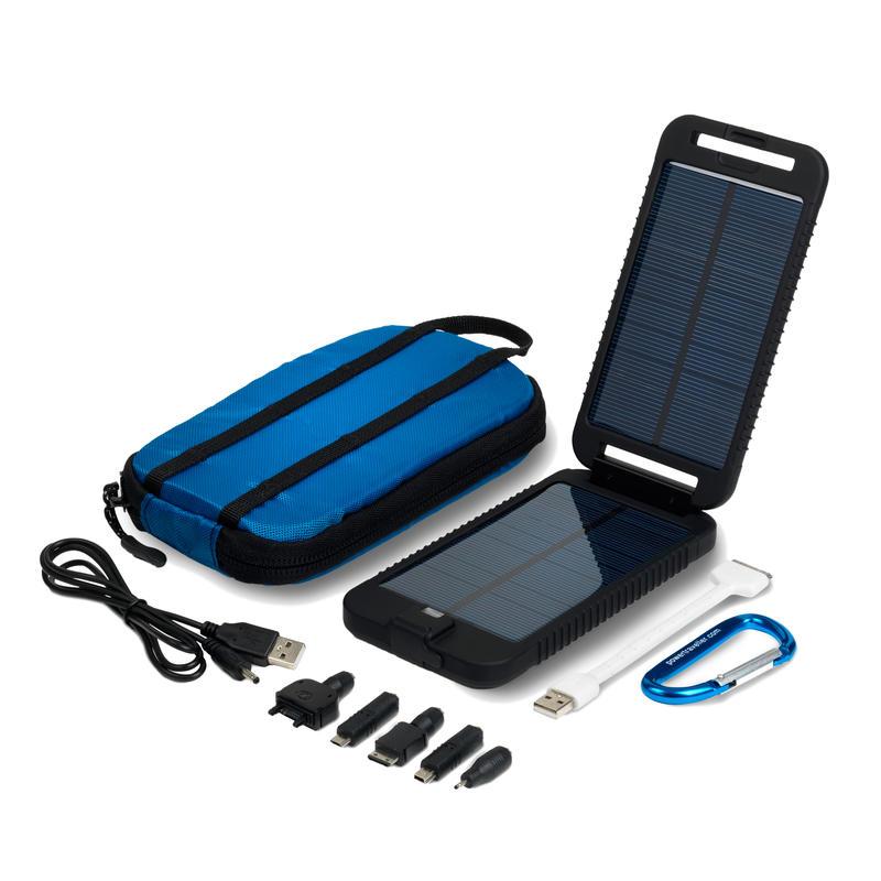 Chargeur solaire SolarMonkey Adventurer (3500 mAh) Noir