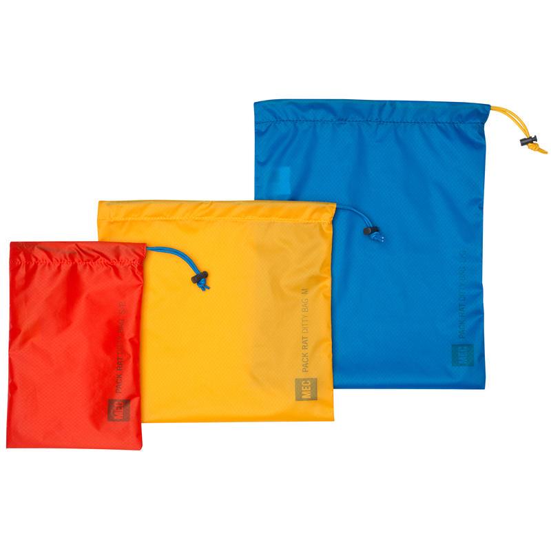 Pack Rat Ditty Bags (3 Pack) Atlantis/Squash/Lava