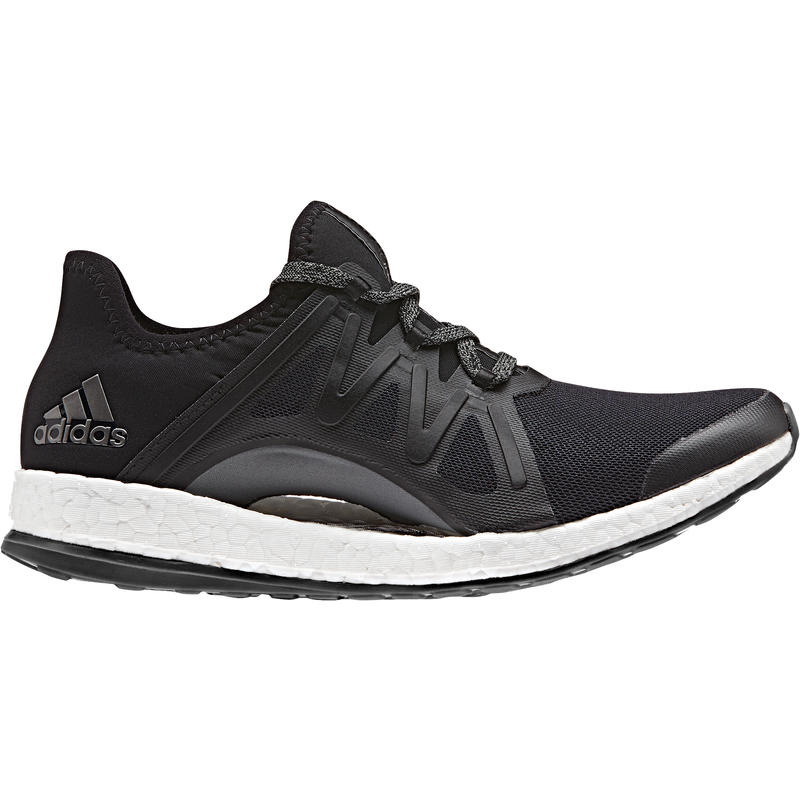 Chaussures de course sur route Pure Boost Xpose Noir noyau/Gris foncé