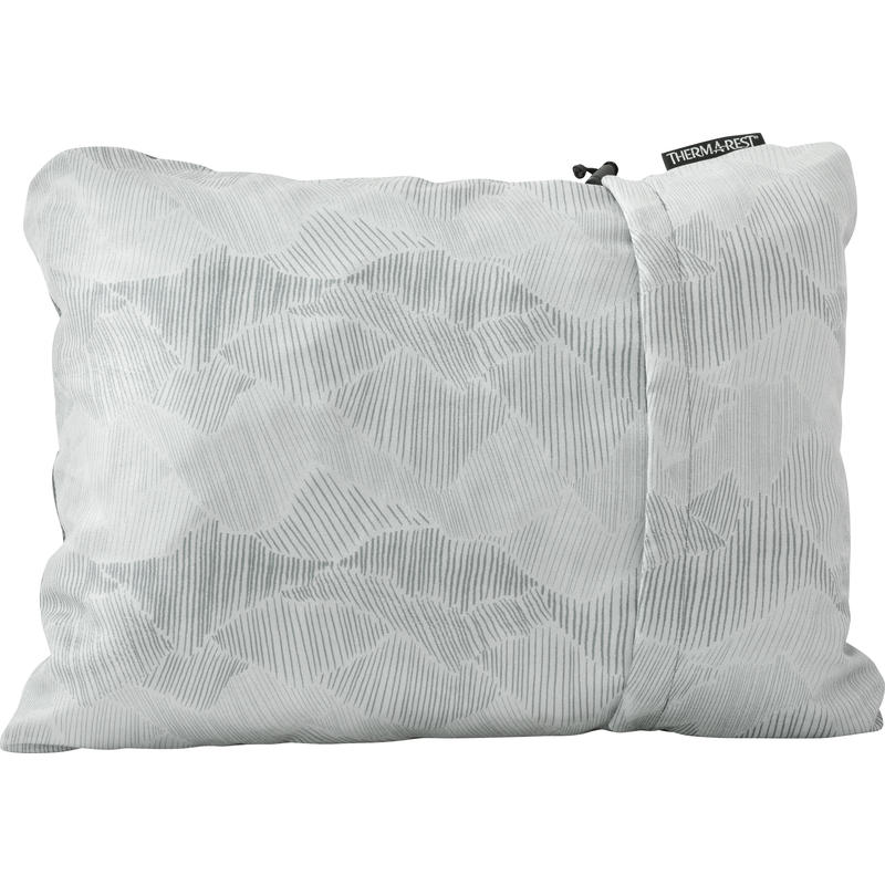 Compressible Small Pillow Grey