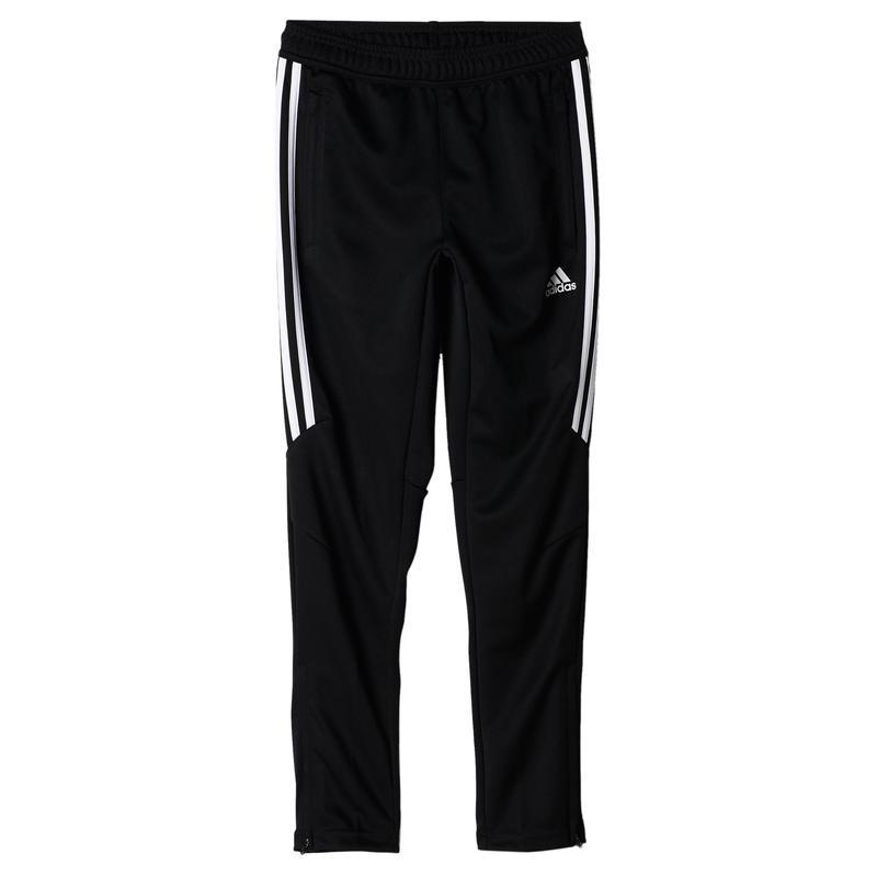 Pantalon Tiro 17 à 3 barres Noir/Blanc/Noir