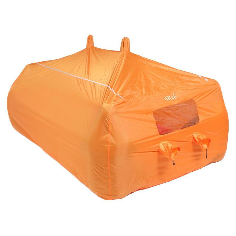 Abri pour groupe de 8 à 10 personnes Orange