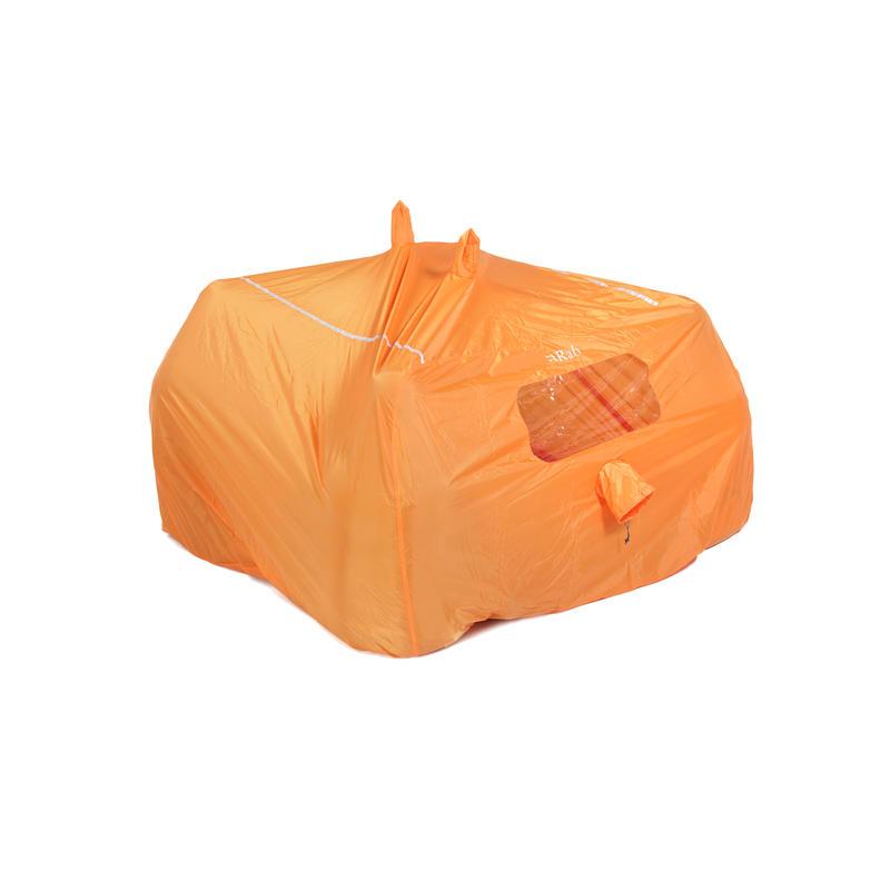 Abri pour groupe de 4 à 6 personnes Orange