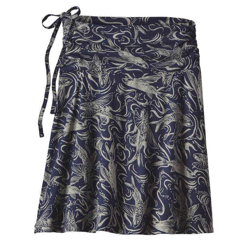 Lithia Skirt Fish Splash/Navy Blue