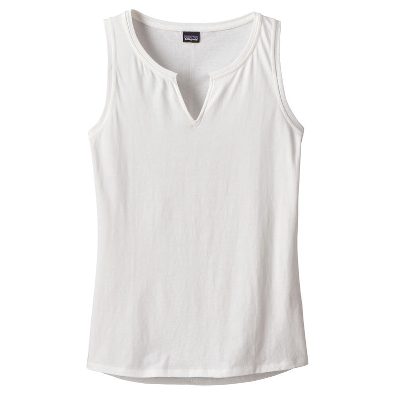 Camisole Shallow Seas 2 Blanc