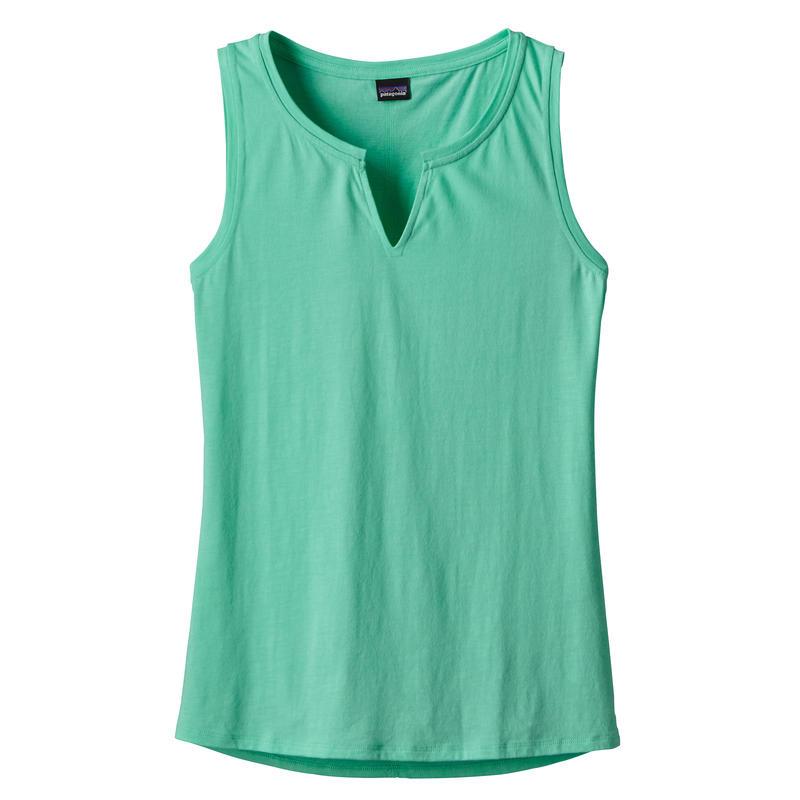 Camisole Shallow Seas 2 Vert cacatoès