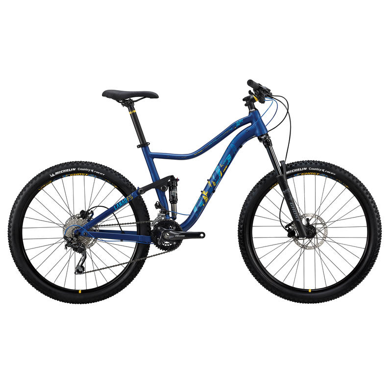 Vélo Lanao FS 2 Bleu/Ambre