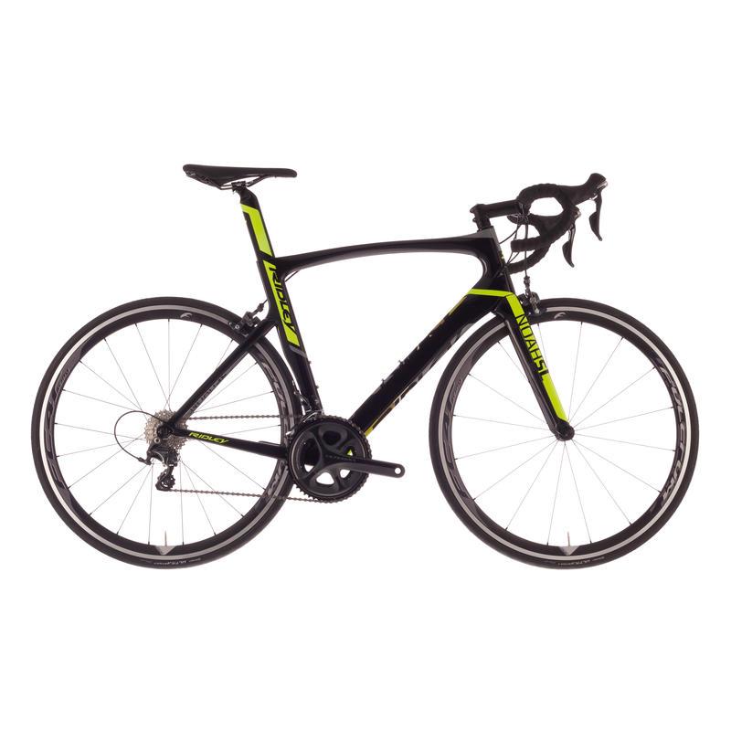 Vélo de route Noah SL40 Noir/Jaune néon/Gris