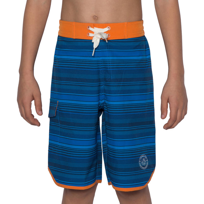 Short Amped Rayures bleues
