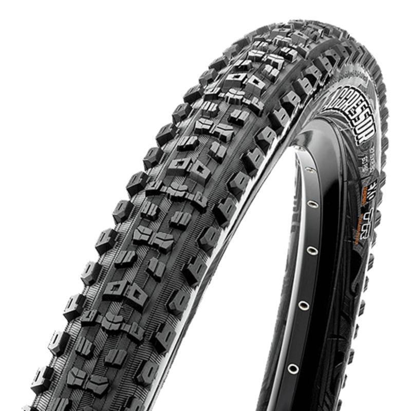 Pneu de vélo pliable Aggressor 27,5 DC/EXO/TR Noir