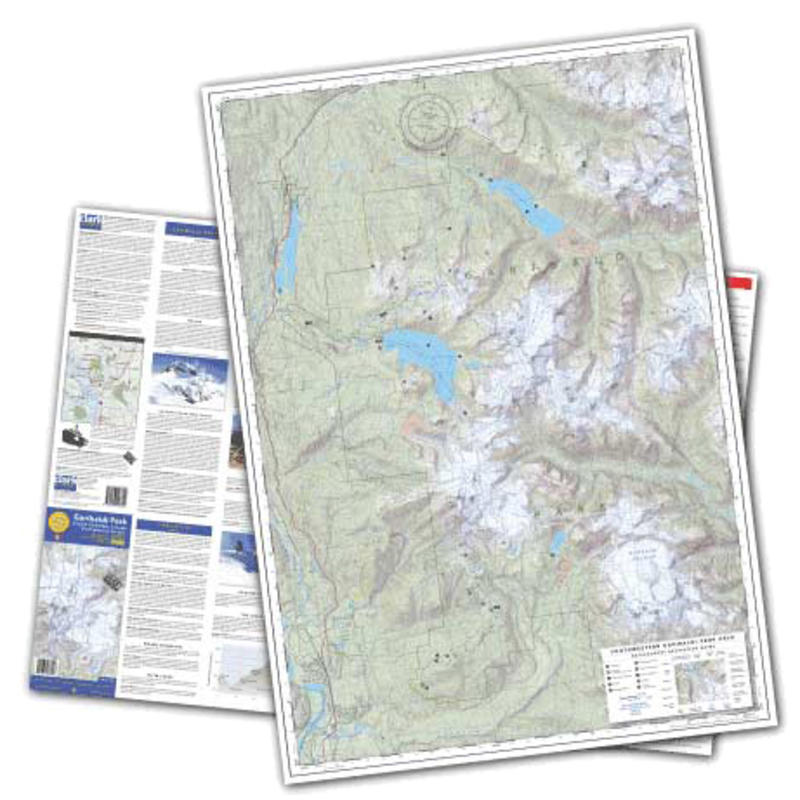 Topo/Graphic Map Series: Garibaldi Park BC 4th Ed.