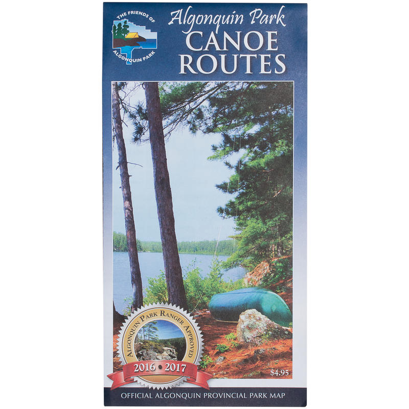 Algonquin Park Canoe Map 2016 Edition