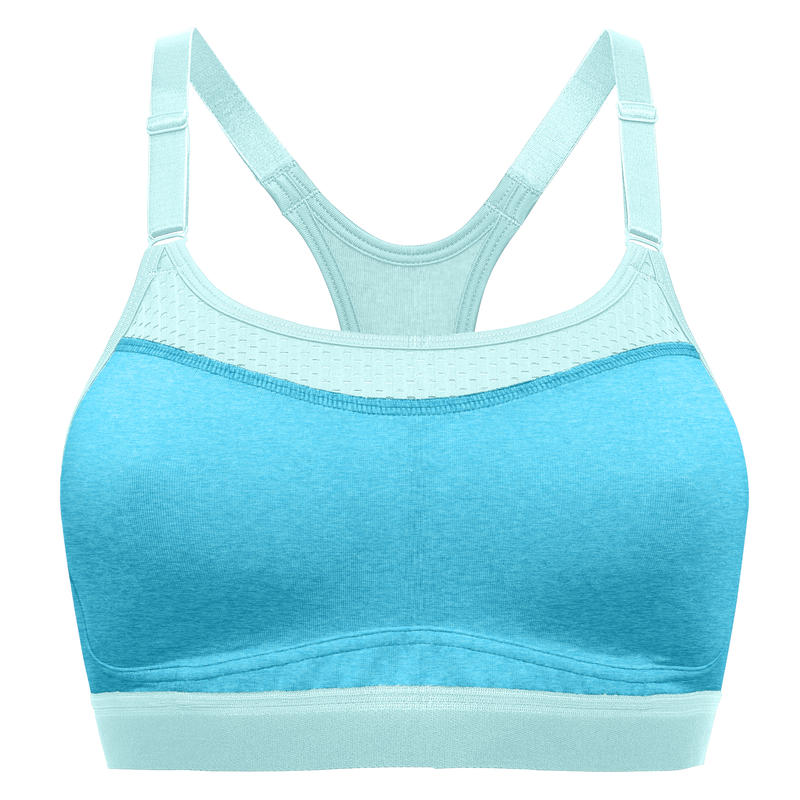 All in One Bra Turq Waters Heather/Blue Mist