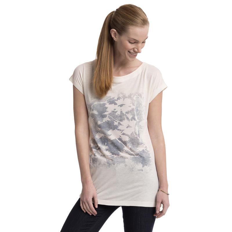 Marikea Short-Sleeved Top Muslin Heather Fiore Grand Graphic