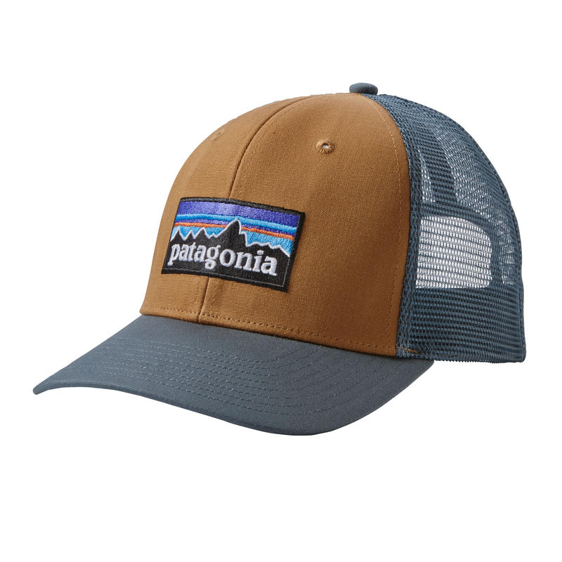 P-6 Logo Trucker Hat Bear Brown