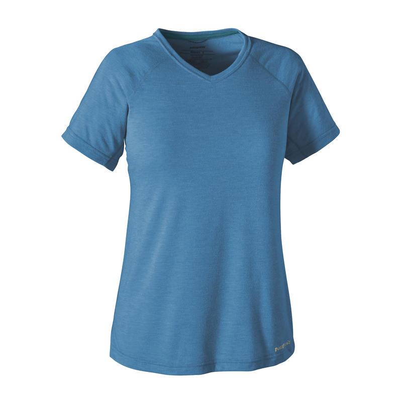 T-shirt Nine Trails Bleu radar