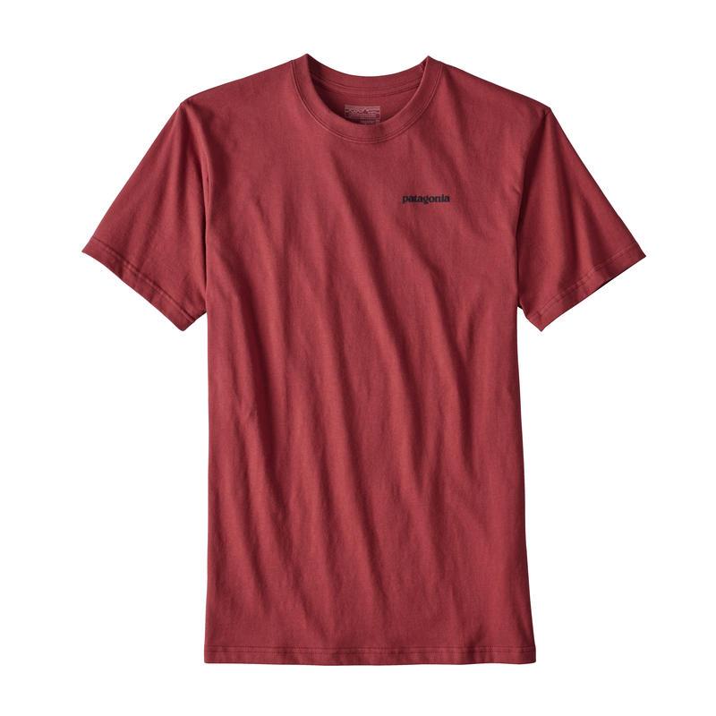 T-Shirt P-6 Logo Rouge adzuki
