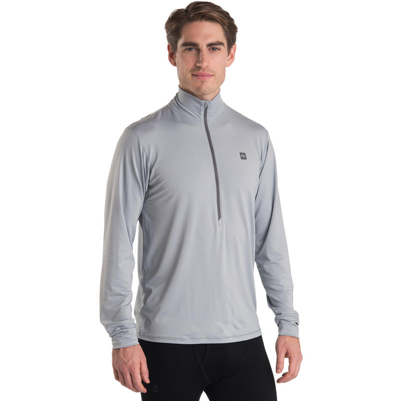T1 Long-Sleeved Zip-T Quarry